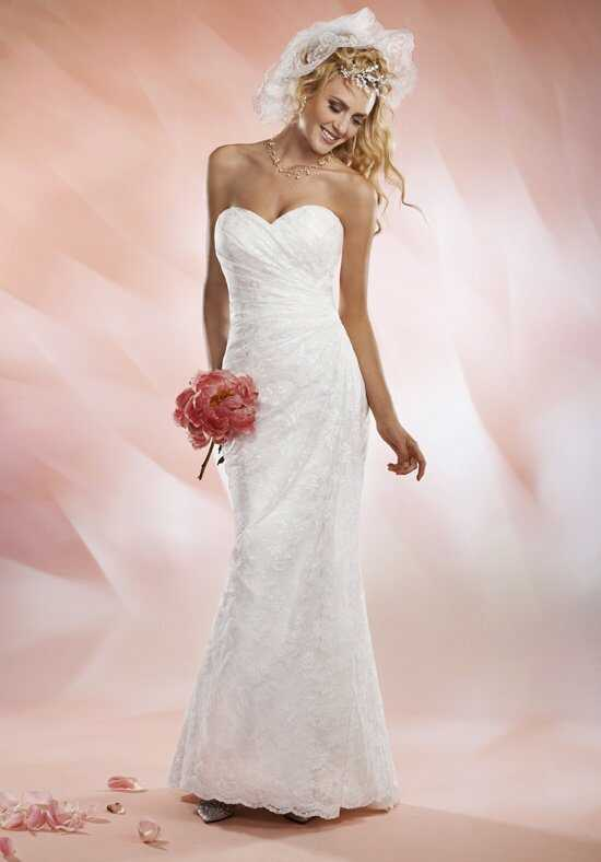 1 Wedding by Mary's Bridal 2530 Sheath Wedding Dress