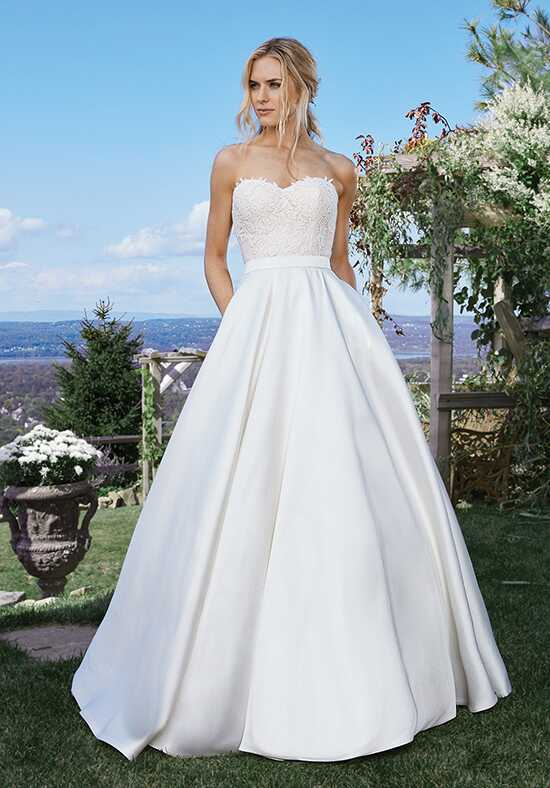 Lillian West 6440 Ball Gown Wedding Dress