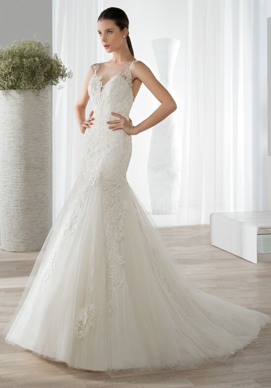 Demetrios 599 Mermaid Wedding Dress