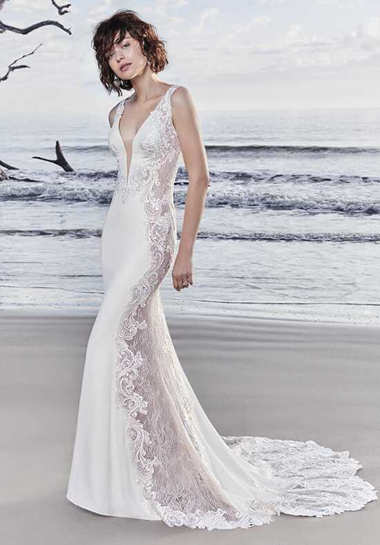 Sottero and Midgley Bradford Rose Sheath Wedding Dress