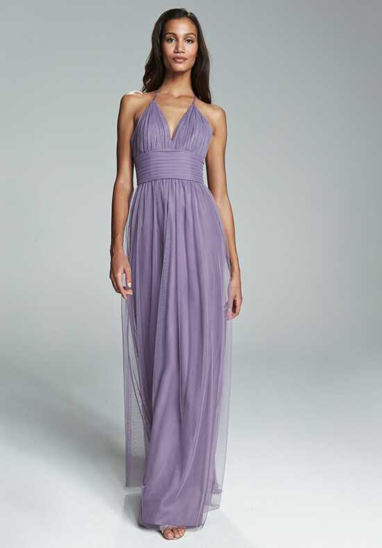 Amsale Bridesmaids Astrid V-Neck Bridesmaid Dress