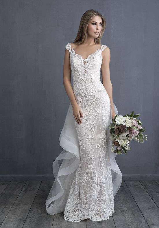 Allure Couture C489T Sheath Wedding Dress