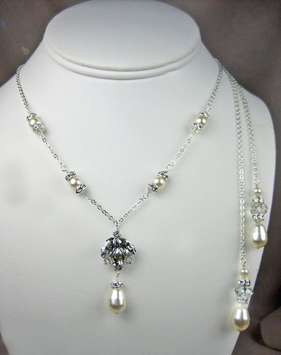 Everything Angelic Stella Lariat Necklace - L38 Wedding Necklace photo
