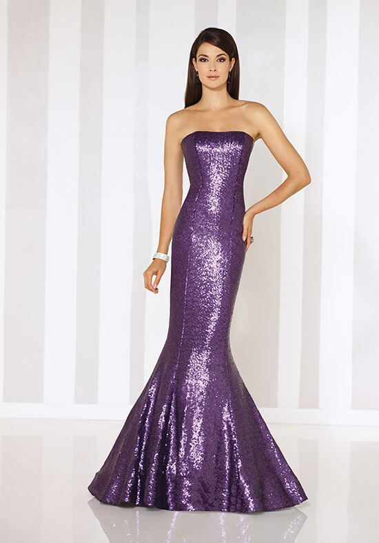 Cameron Blake 116674 Purple Mother Of The Bride Dress