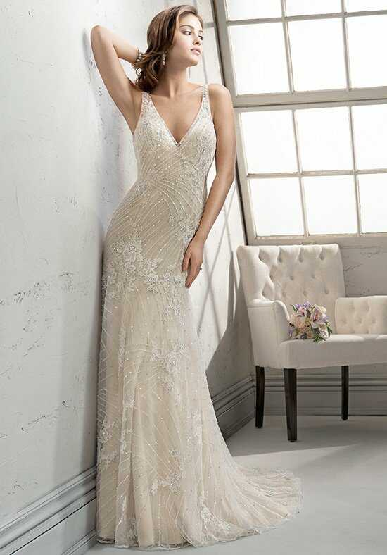 Sottero and Midgley Vogue Sheath Wedding Dress