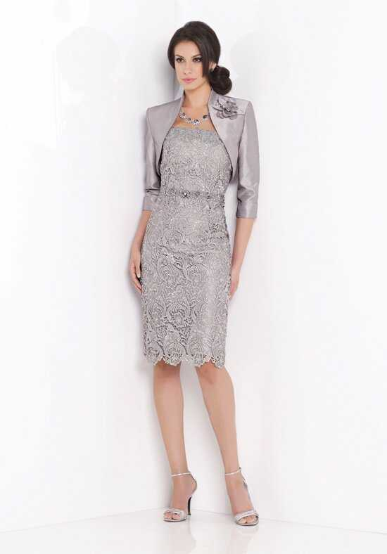 Social Occasions by Mon Cheri 115851 Silver Mother Of The Bride Dress
