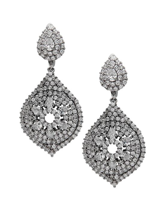 Nina Bridal Wedding Jewelry Yazlyn Wedding Earrings photo
