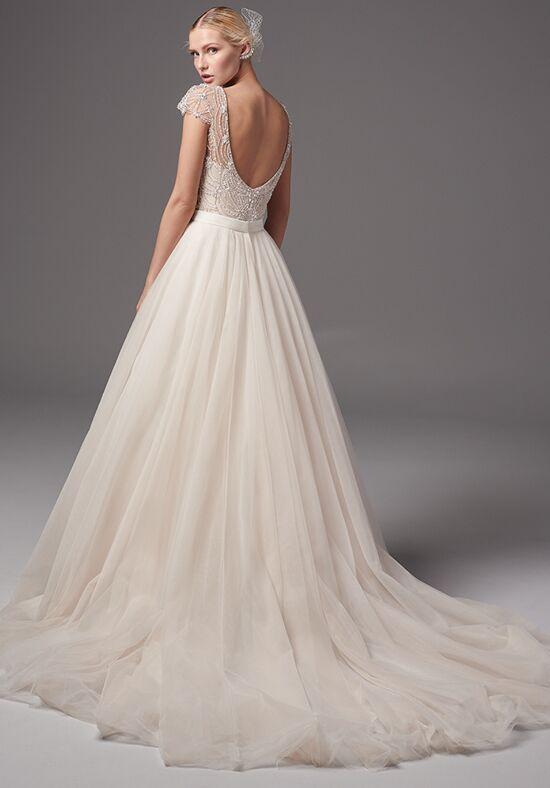 Sottero and midgley sinatra bodysuit with kallin skirt for Wedding dress bodysuit and skirt