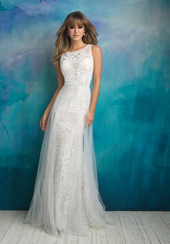 Allure Bridals 9507 Sheath Wedding Dress