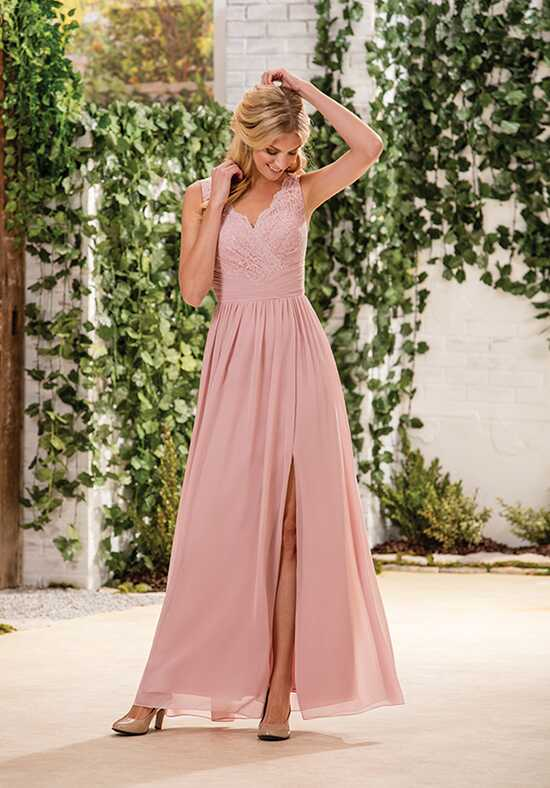 B2 by Jasmine B183060 V-Neck Bridesmaid Dress