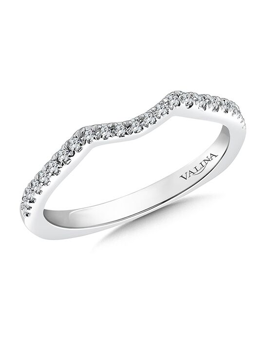 Valina R9500BW White Gold Wedding Ring