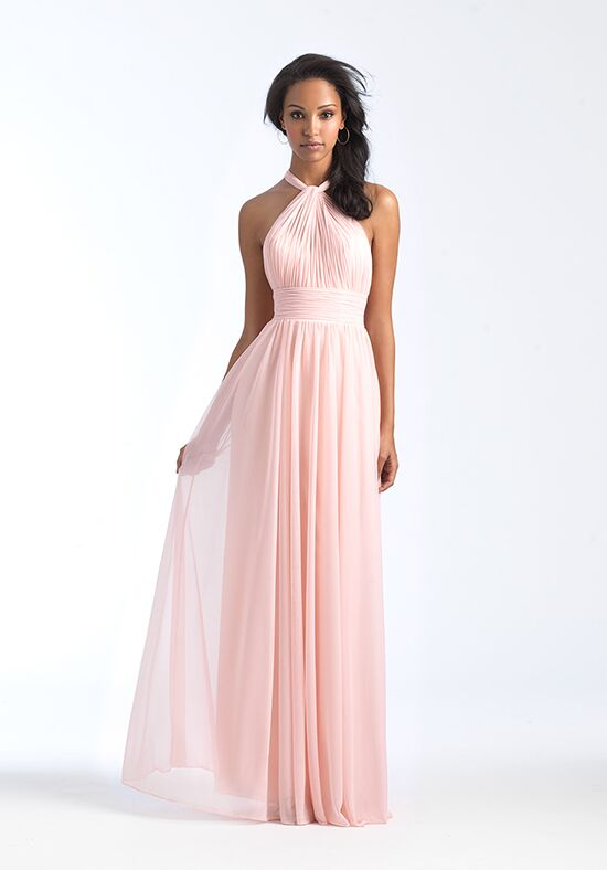 Allure Bridesmaids 1565 Bateau Bridesmaid Dress