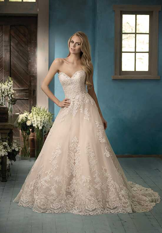 Jasmine Collection F191056 A-Line Wedding Dress