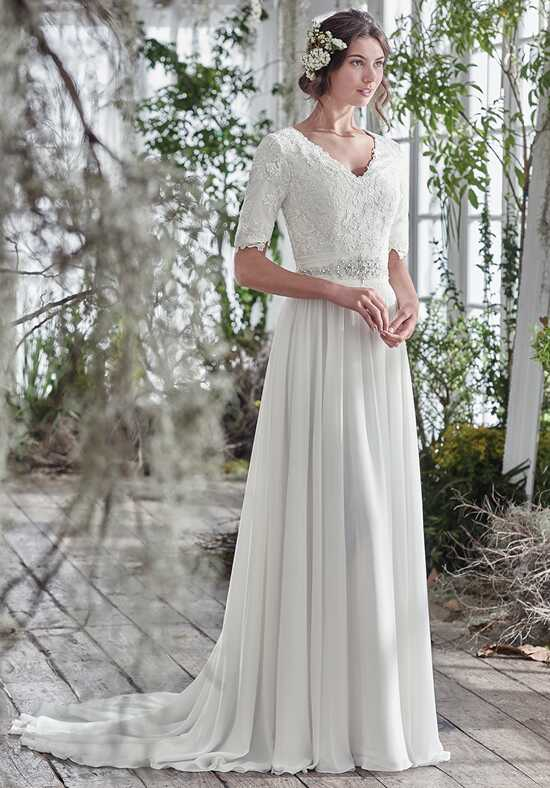 Maggie Sottero Lyliette A-Line Wedding Dress
