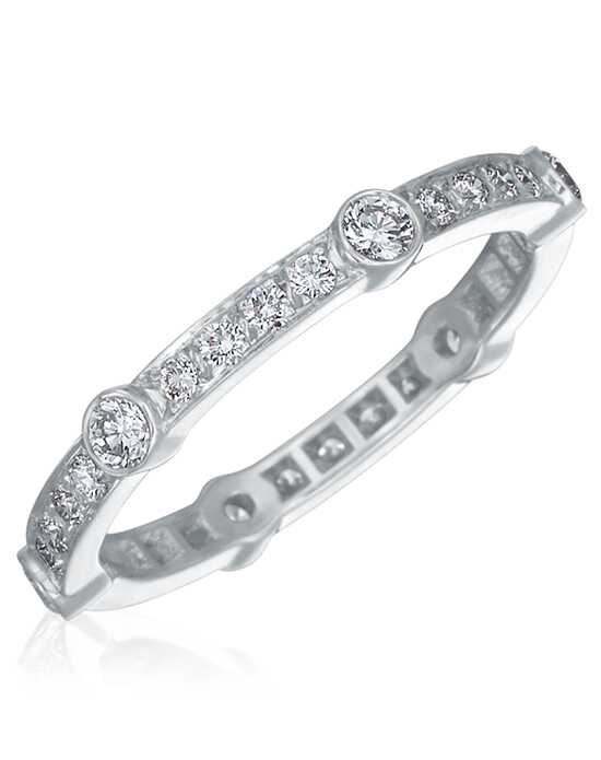 "Say ""I do!"" in Platinum Gumuchian Women's Wedding Band-R898P Platinum Wedding Ring"