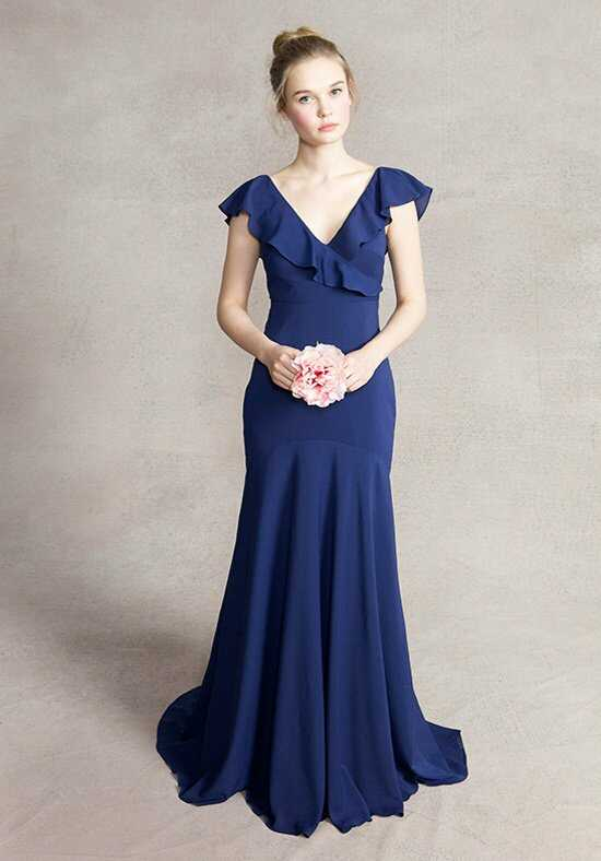 Jenny Yoo Collection (Maids) Gatsby #1412 V-Neck Bridesmaid Dress