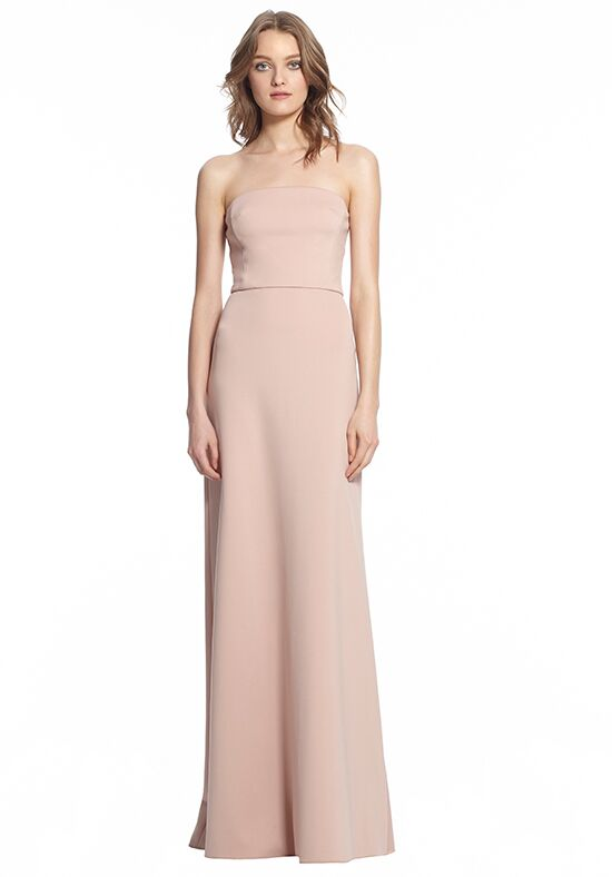 Monique Lhuillier Bridesmaids 450497 Strapless Bridesmaid Dress