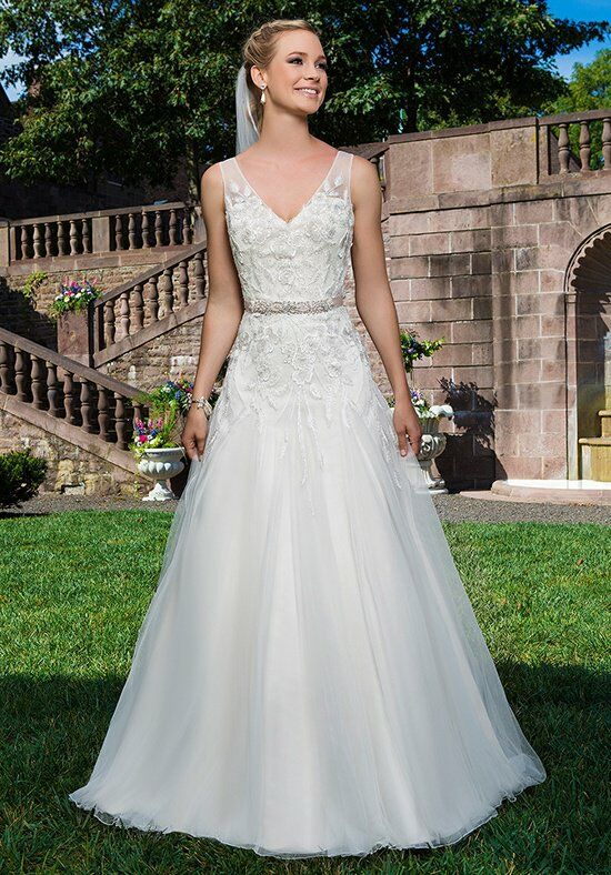 Sincerity Bridal 3858 A-Line Wedding Dress