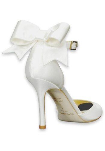 The knot shop kate spade new york izzie wedding shoes the knot the knot shop kate spade new york izzie ivory shoe junglespirit Choice Image