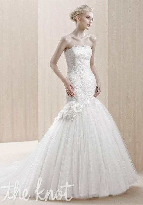 Blue Enzoani Wedding Dress For  : Blue by enzoani emporia wedding dress the knot