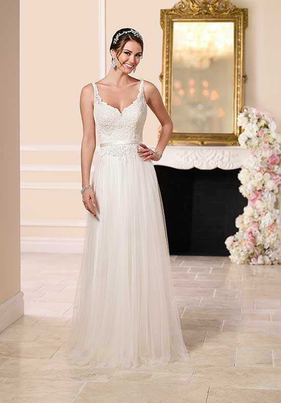 Stella York 6157 Sheath Wedding Dress