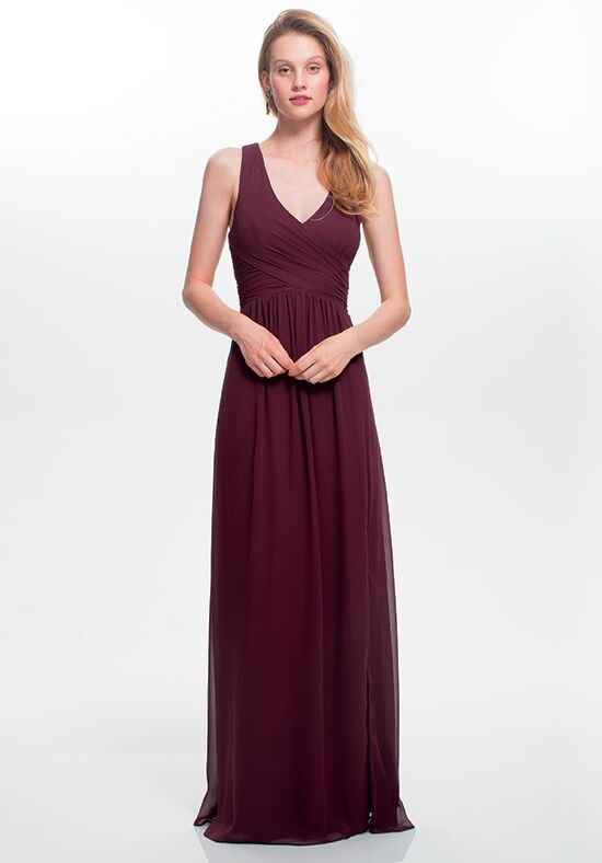 #LEVKOFF 7022 V-Neck Bridesmaid Dress
