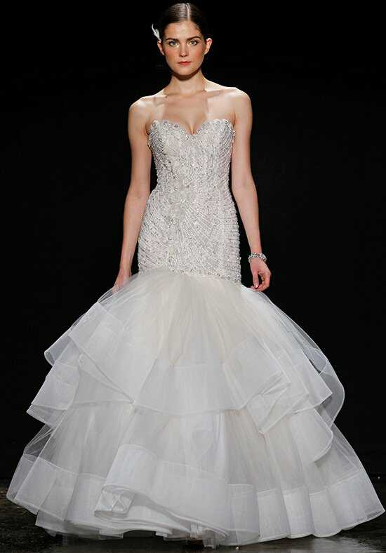 Lazaro 3410 Mermaid Wedding Dress
