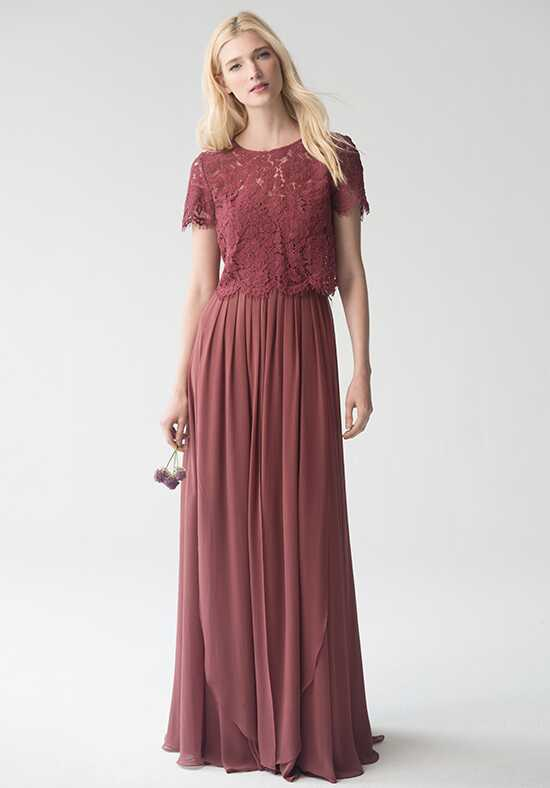 Jenny Yoo Collection (Maids) Kenzie Top {Cinnamon Rose} #L1761 Bridesmaid Dress photo