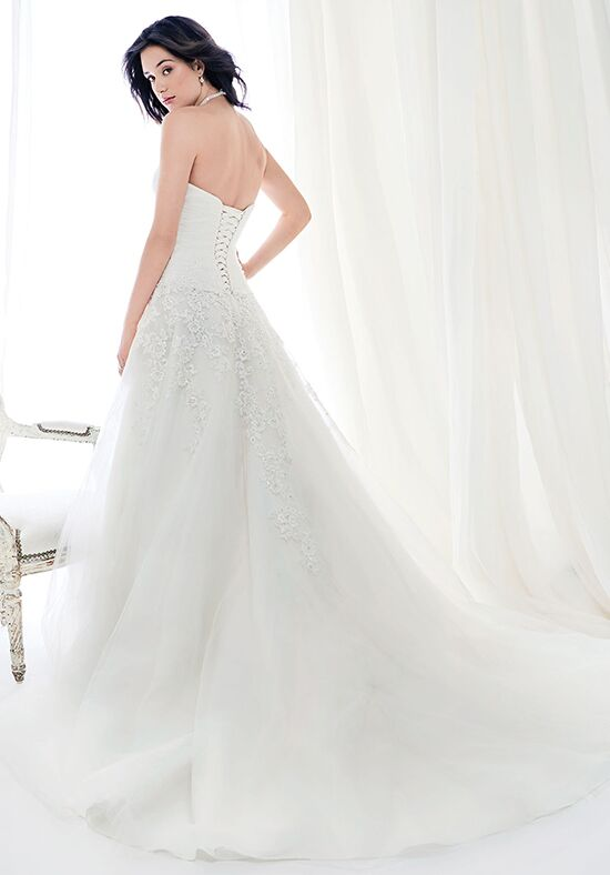 Kenneth Winston: Ella Rosa Collection BE411 A-Line Wedding Dress