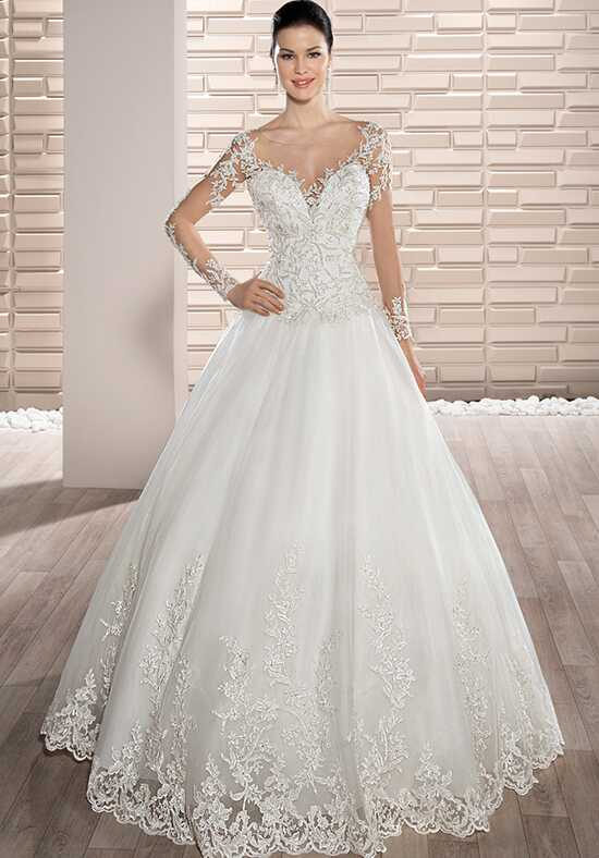 Demetrios 729 Ball Gown Wedding Dress