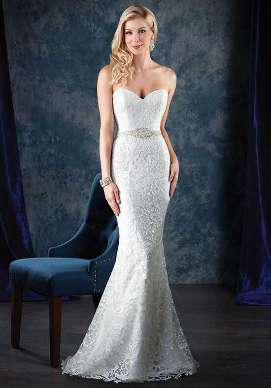 Alfred Angelo Sapphire Bridal Collection 996 Sheath Wedding Dress