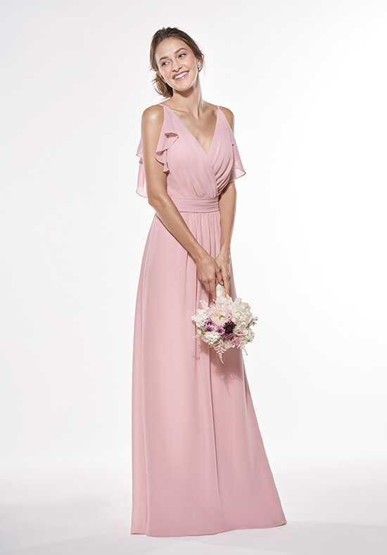 JASMINE P196001 V-Neck Bridesmaid Dress