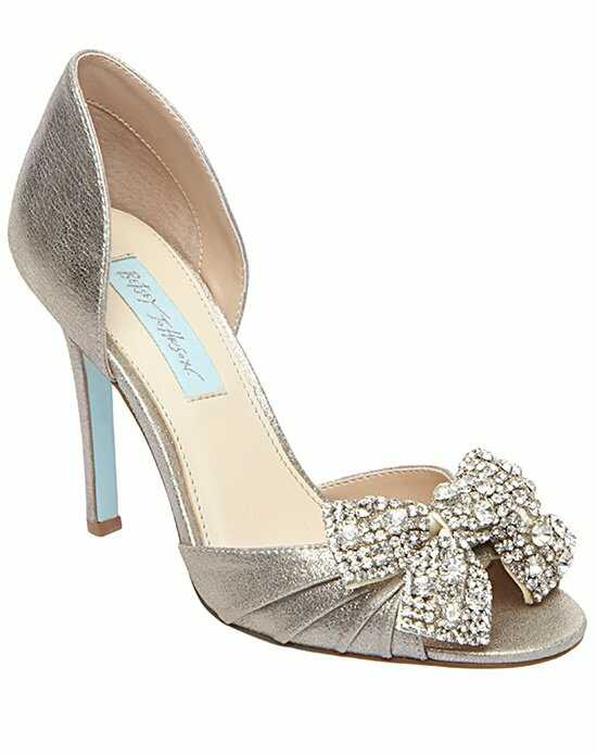 Blue by Betsey Johnson SB-Gown-Silver Silver Shoe