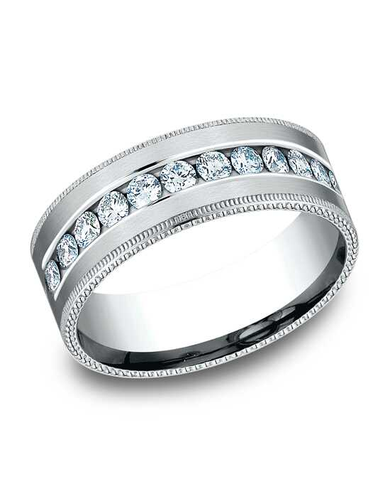 Benchmark CF528634W White Gold Wedding Ring