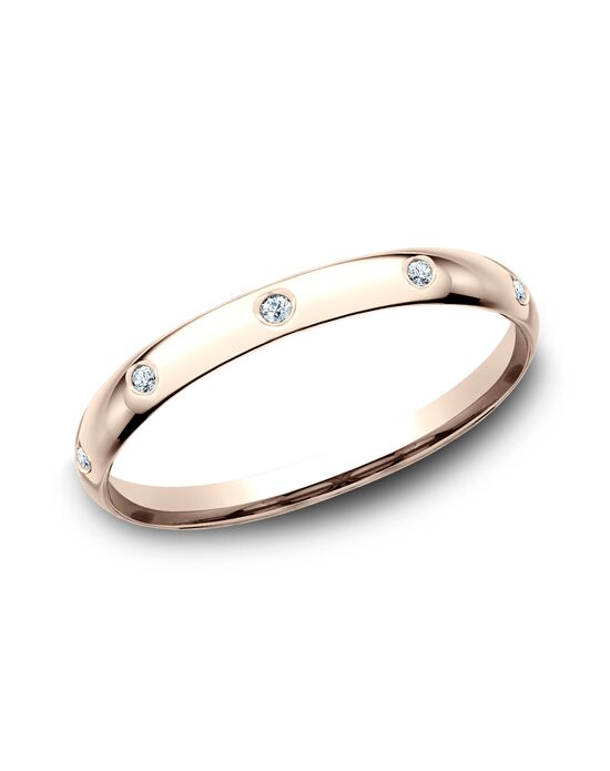 Benchmark LCF120DR Rose Gold Wedding Ring