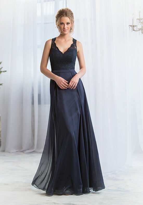 Belsoie L164065 V-Neck Bridesmaid Dress