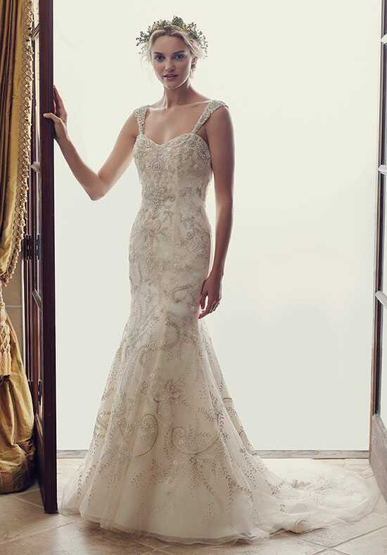 Casablanca Bridal 2227 Aster Sheath Wedding Dress