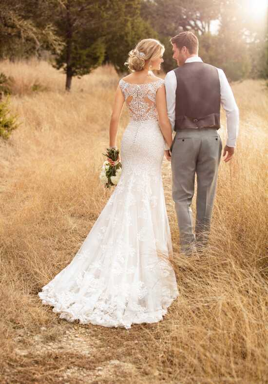 Essense of Australia D2322 Sheath Wedding Dress