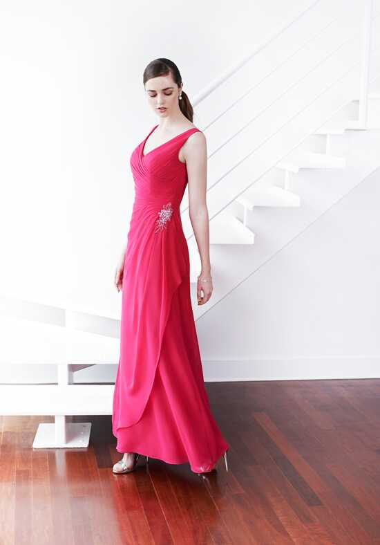Colour by Kenneth Winston 5217L V-Neck Bridesmaid Dress