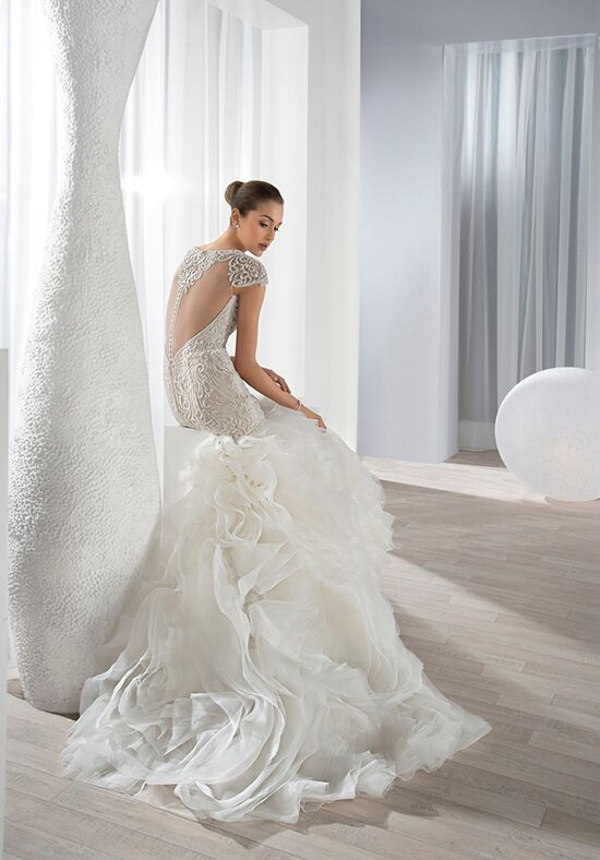 demetrios 634 wedding dress the knot