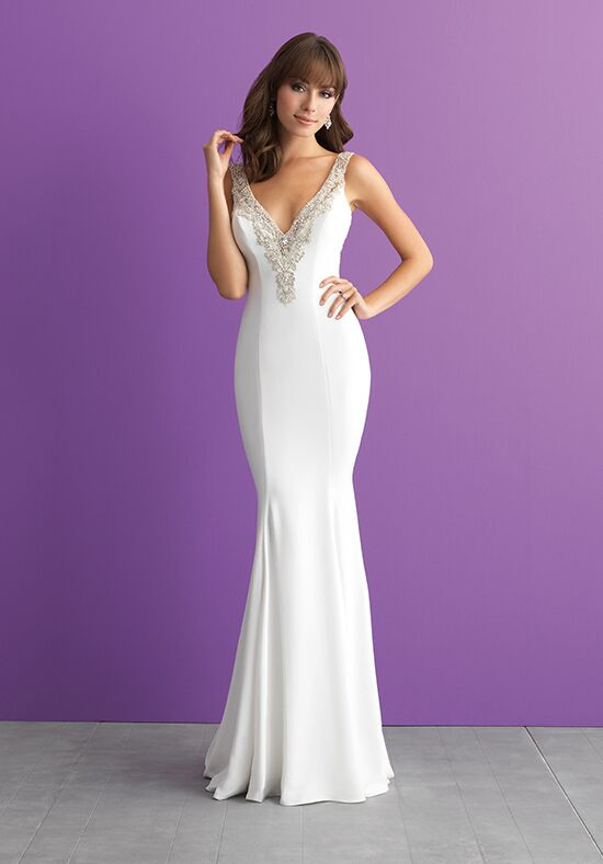 Allure Romance 3013 Sheath Wedding Dress