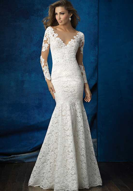 Allure Bridals 9377 Sheath Wedding Dress