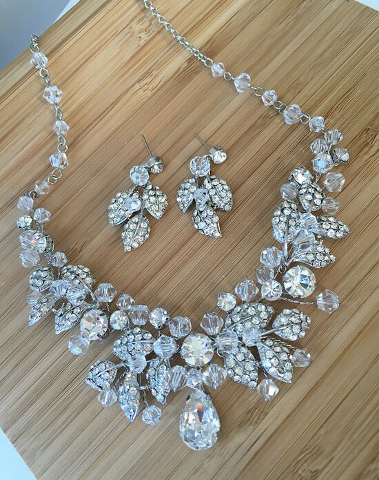 Usabride Spectacular Swarovski Crystal Jewelry Set Js