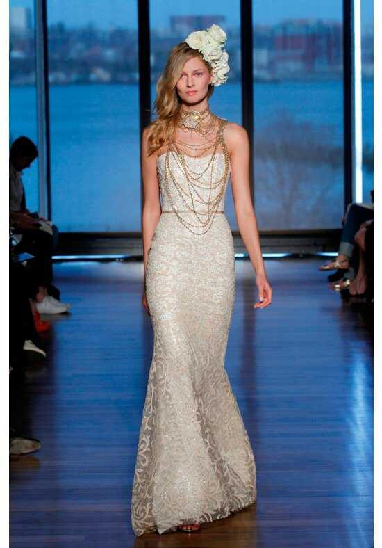 Ines Di Santo Sahara Sheath Wedding Dress