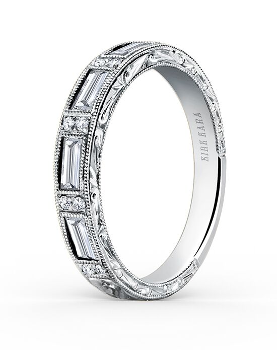 Kirk Kara Charlotte Collection SS6685D-B Wedding Ring