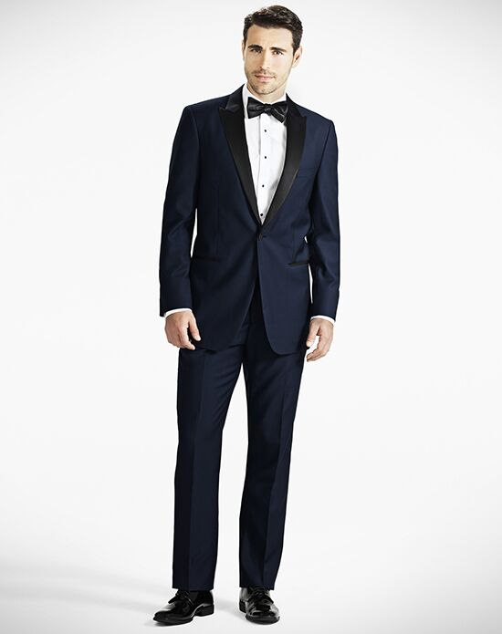 Generation Tux Peak Lapel Modern Fit Midnight Blue Tuxedo