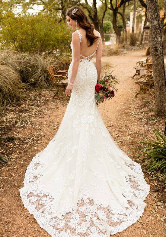 Essense of Australia D2323 Mermaid Wedding Dress
