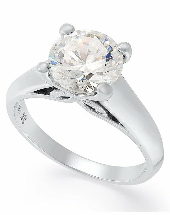 Macy s IU1059CWA1 Engagement Ring The Knot