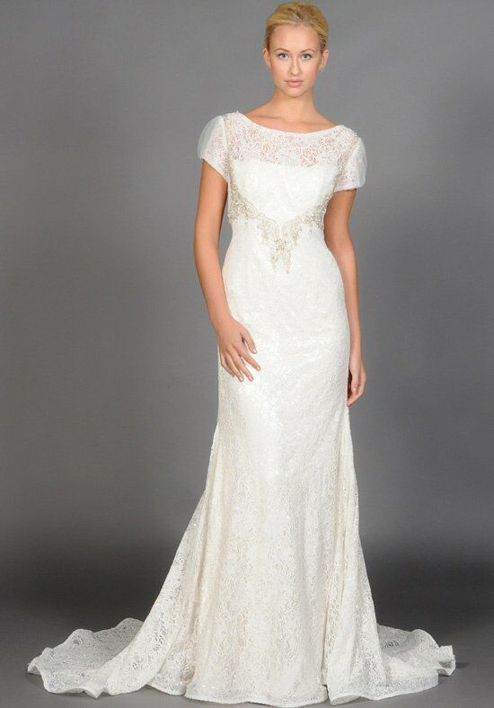 "Eugenia ""Cecilia"" Style 3915 Sheath Wedding Dress"