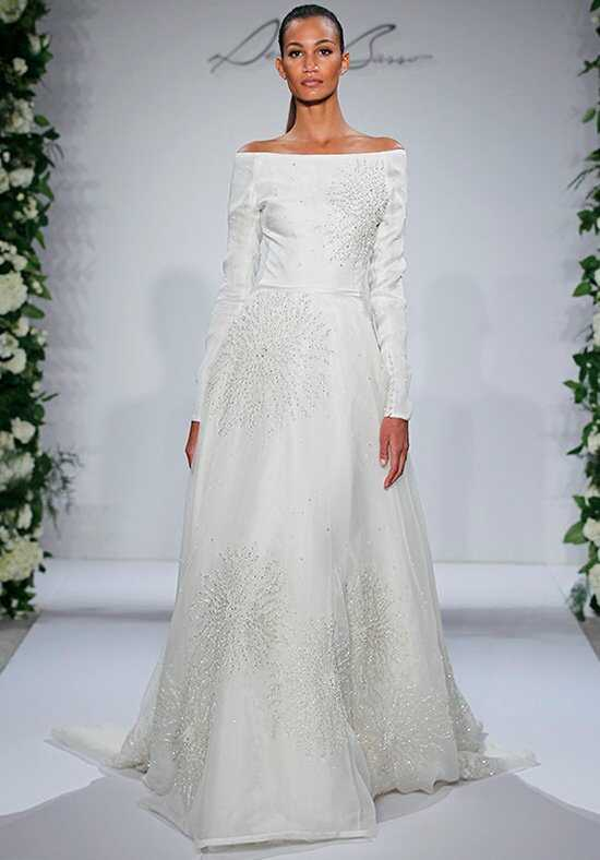Dennis Basso for Kleinfeld Swan A-Line Wedding Dress